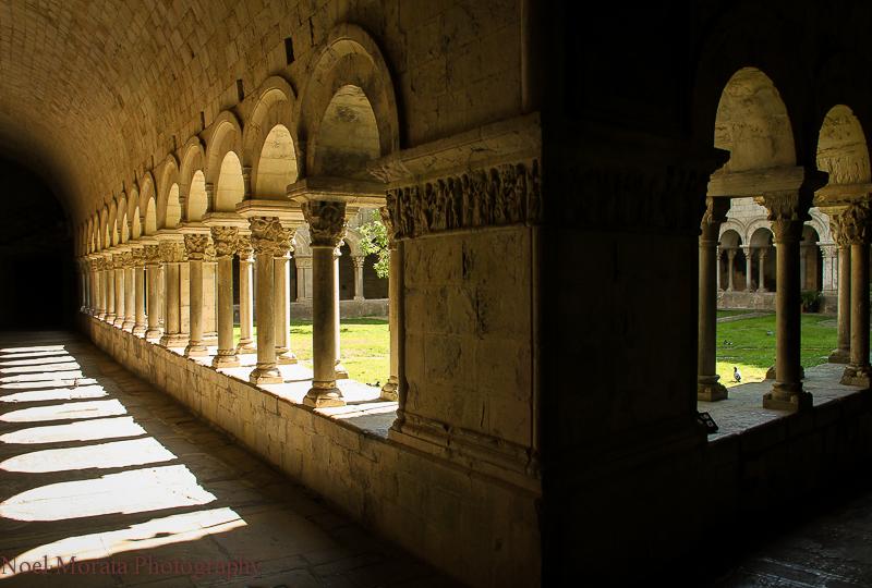 Girona cloister detail