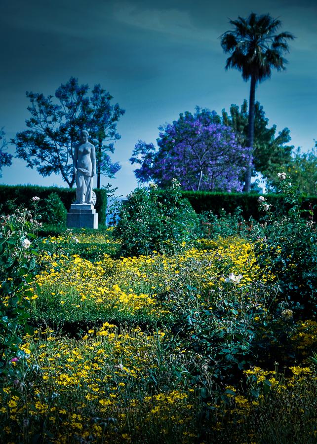 Montjuic parks and botanic gardens