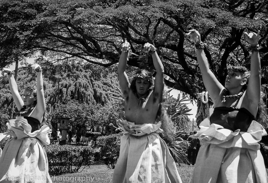 A month celebration of Aloha Festivals in Hawaii
