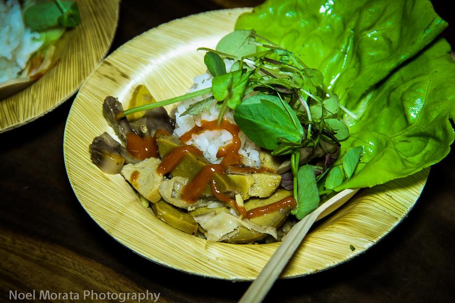 Taste of the Hawaiian Range and eating local