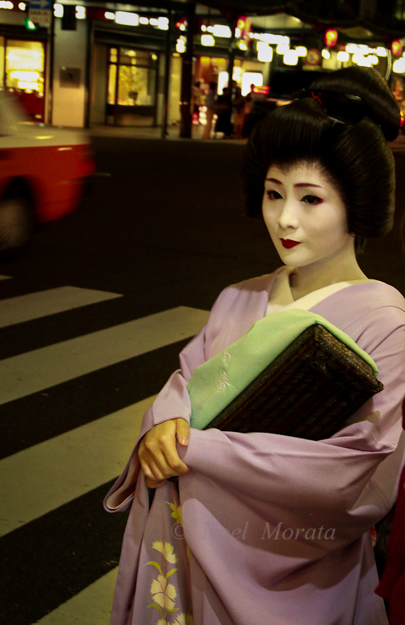 Looking for Geishas in the Gion and Pontocho, Kyoto