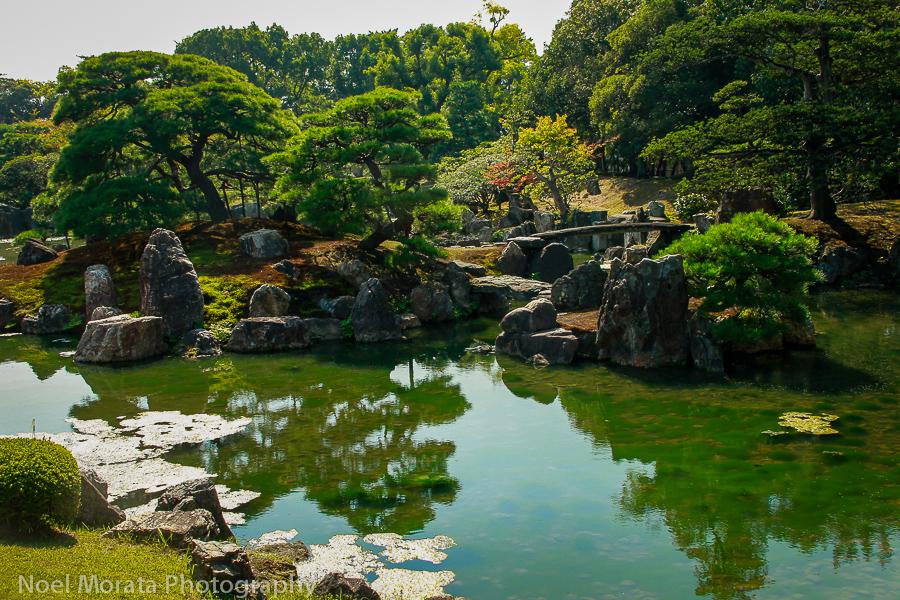 Nijo palace gardens