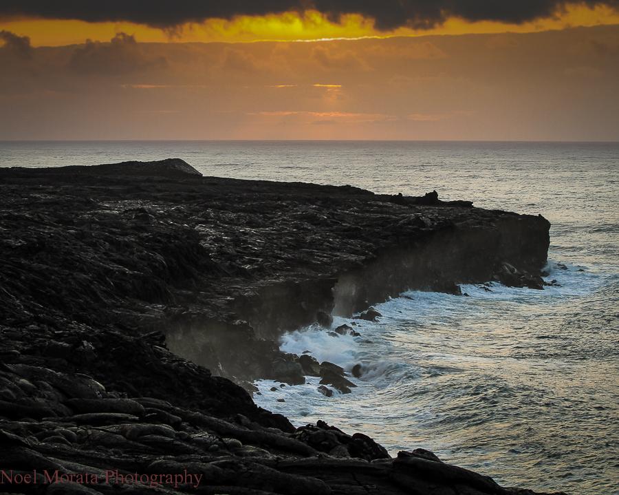 Sunrises in Hawaii Island