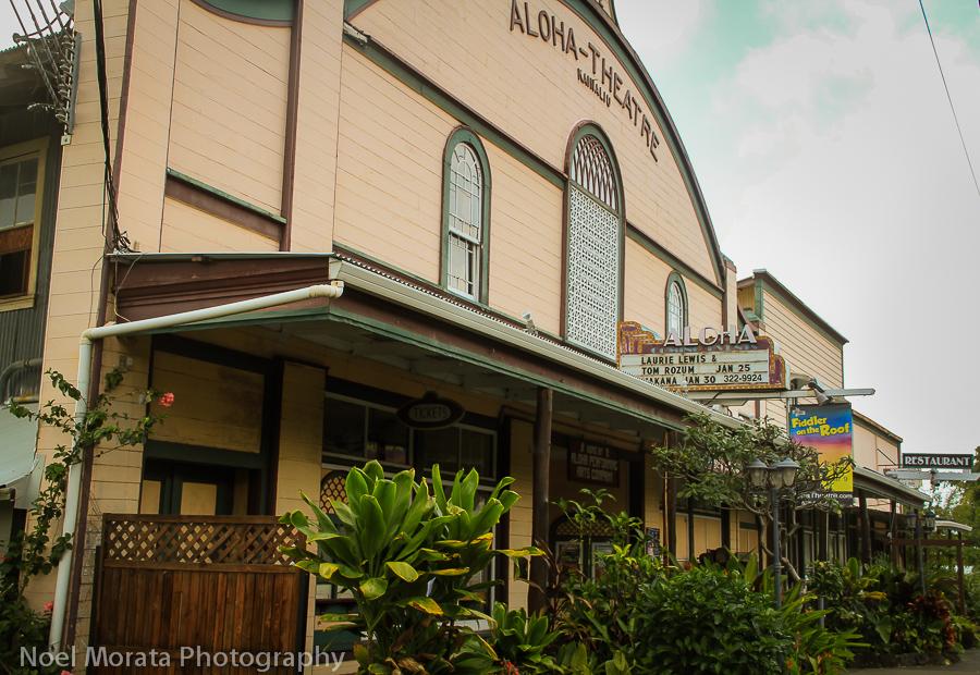 Distinctive towns of Hawaii Island