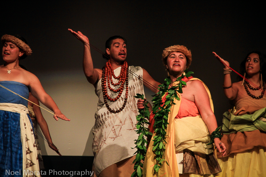Opening night ceremonies at the Waimea Ocean Film Festival