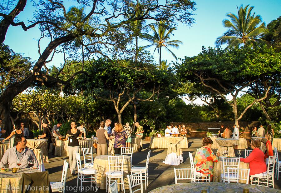 Waimea Ocean Film Festival - A taste of Hawaii dining experience
