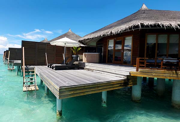 Water villa Maldives