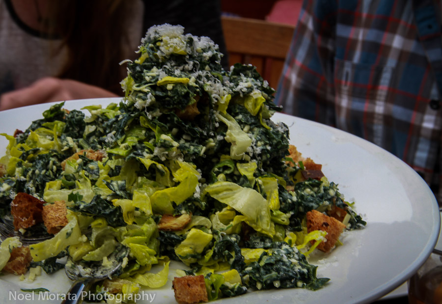 Roadhouse - Kale caesar salad