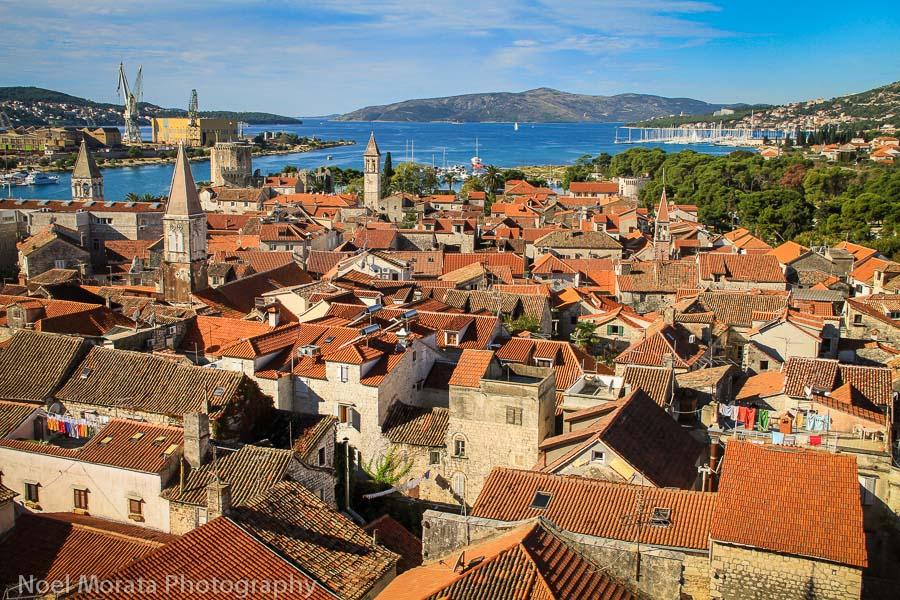Enjoying a day in Trogir Croatia