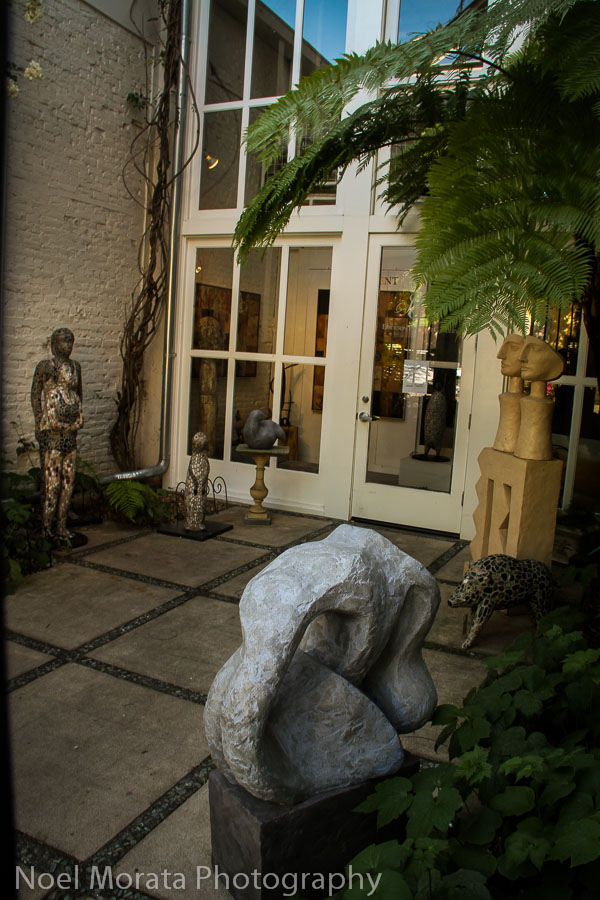 Hip Art finds and galleries at Healdsburg