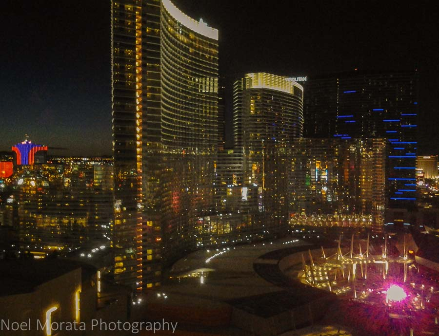 City Center - Las Vegas from the Hotel Monte Carlos
