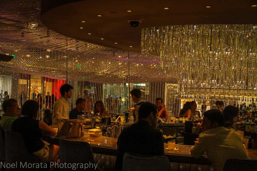 Bar scene at the Cosmopolitan