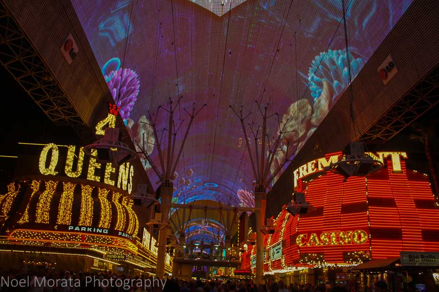 Fremont Street Experience in Downtown Vegas