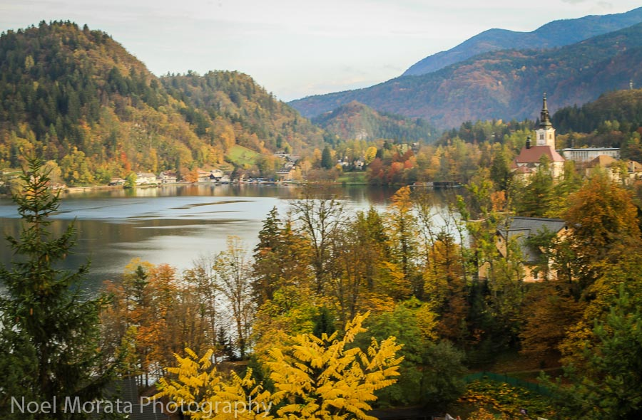 A last view, Lake Bled panorama