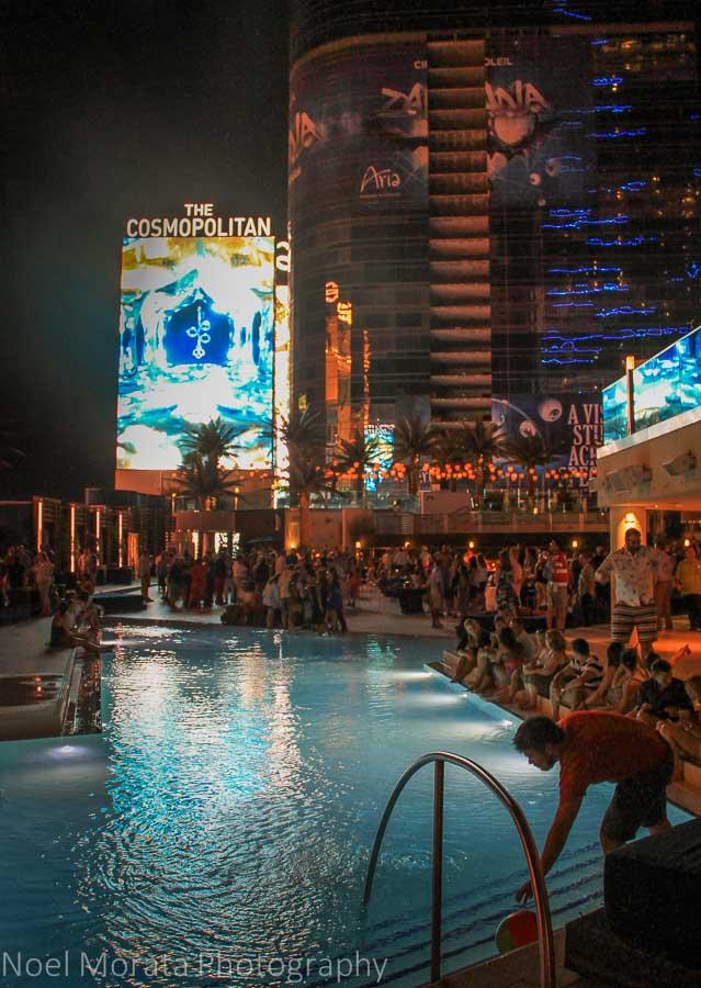 Vegas Vacation 1997 Pool Scene: Amazing Vegas Resort Swimming Pools