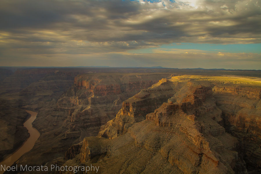 Grand Canyon and Colorado river morning views