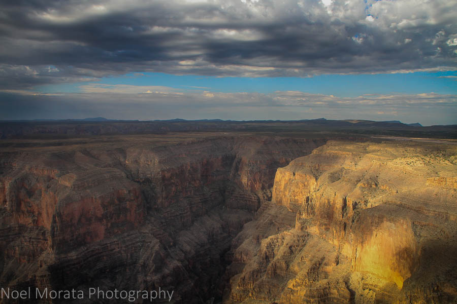 Morning sunlight on the Grand Canyon