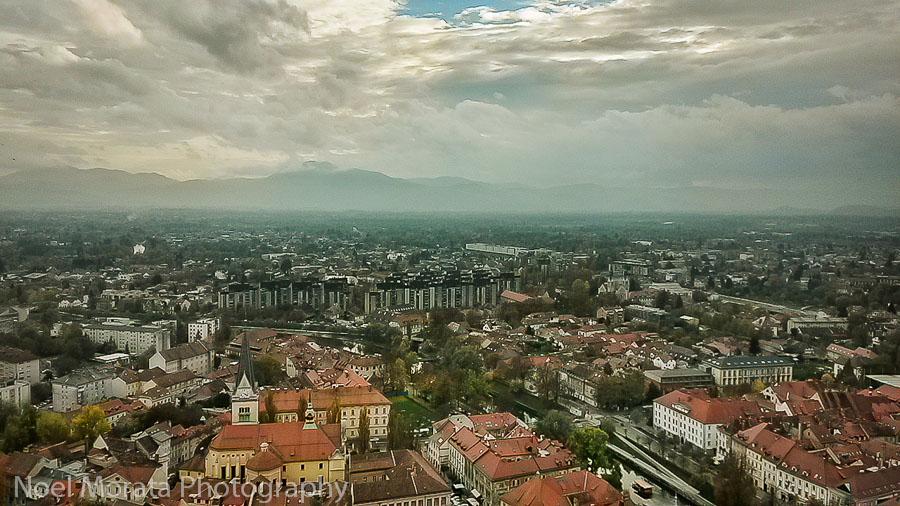 First impression of Lubjlana, Slovenia -