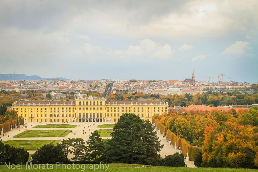 Vienna highlights: a fall visit to Schonbrun