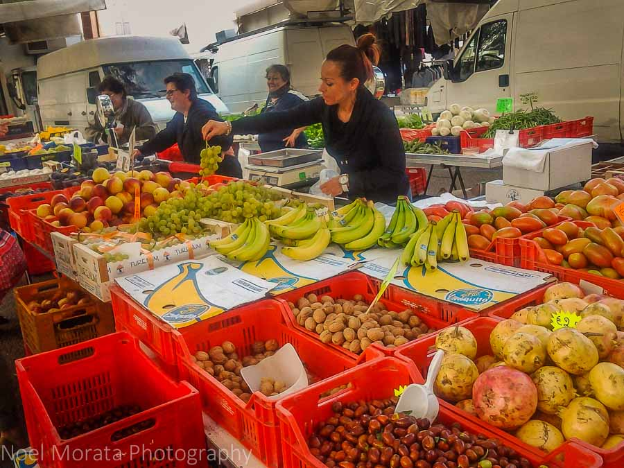 Farmers market at Faenza, Romagna - Travel Photo Mondays