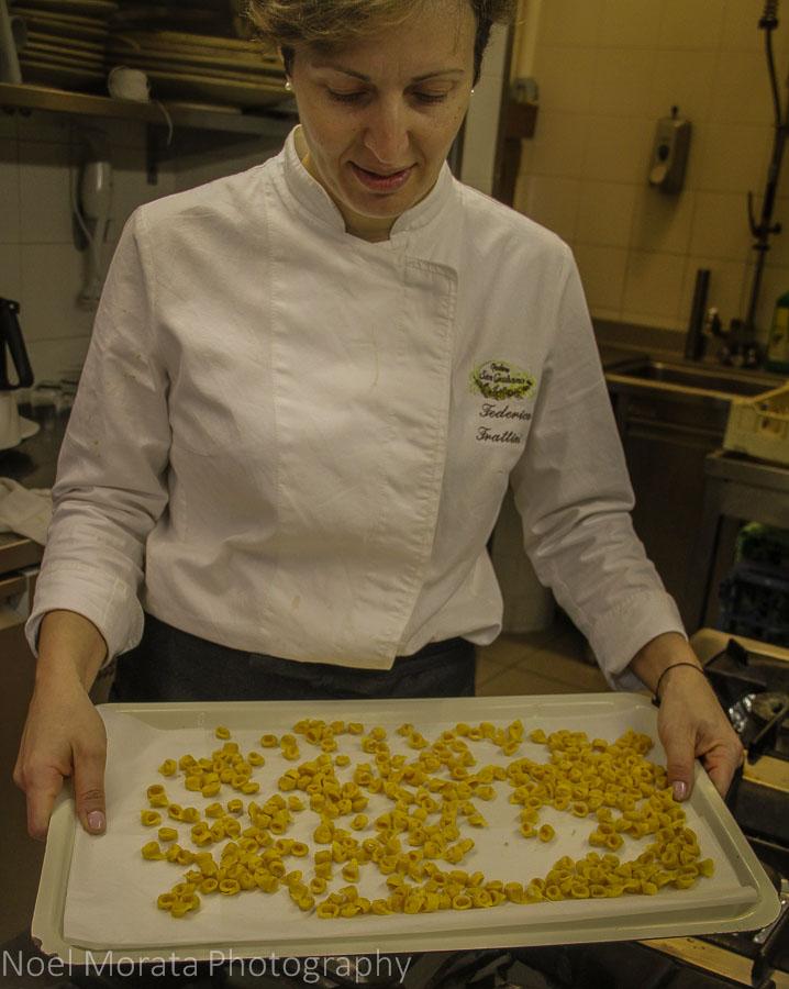 Mini Tortellini from Podere San Giuliano