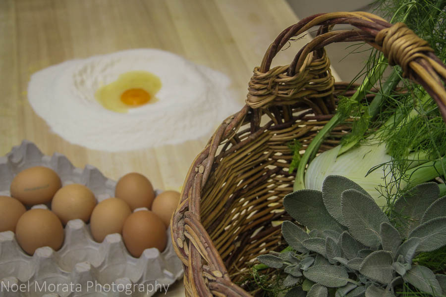 An Agriturismo farm tour and cooking class in Bologna
