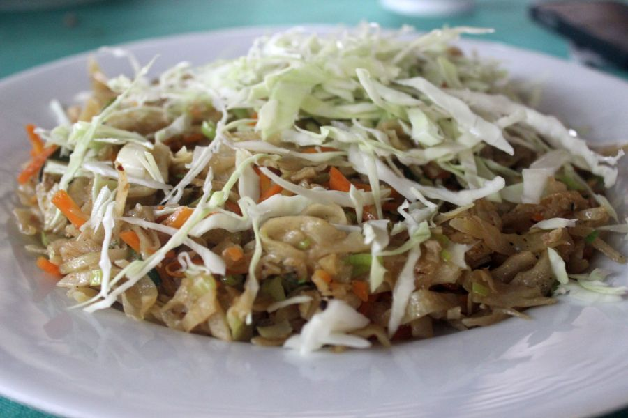 Sri Lankan Kottu, street food
