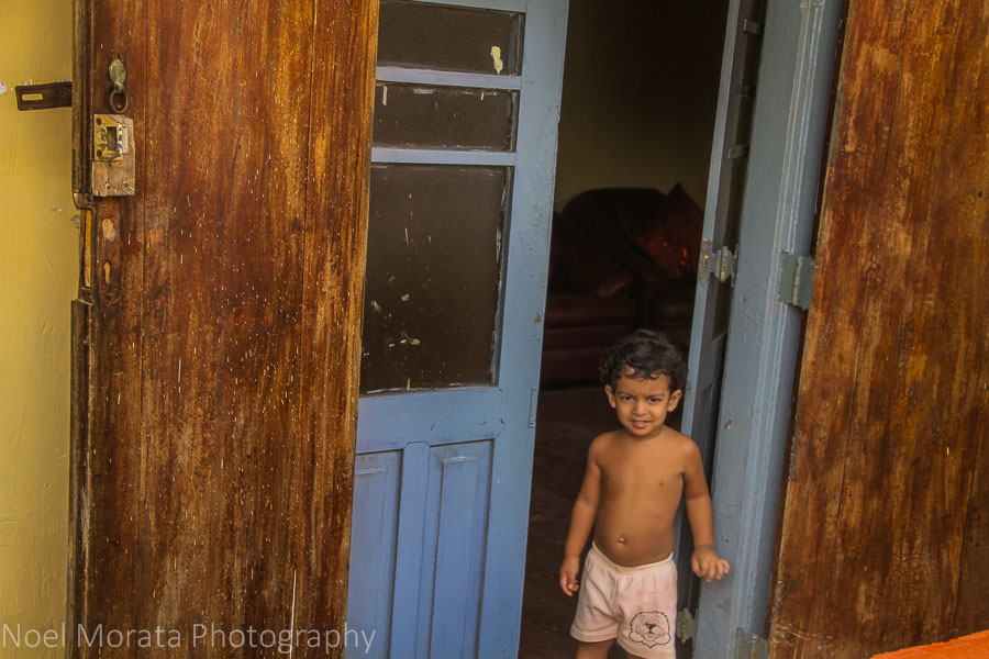 Sweet smiles in the old town of Galle