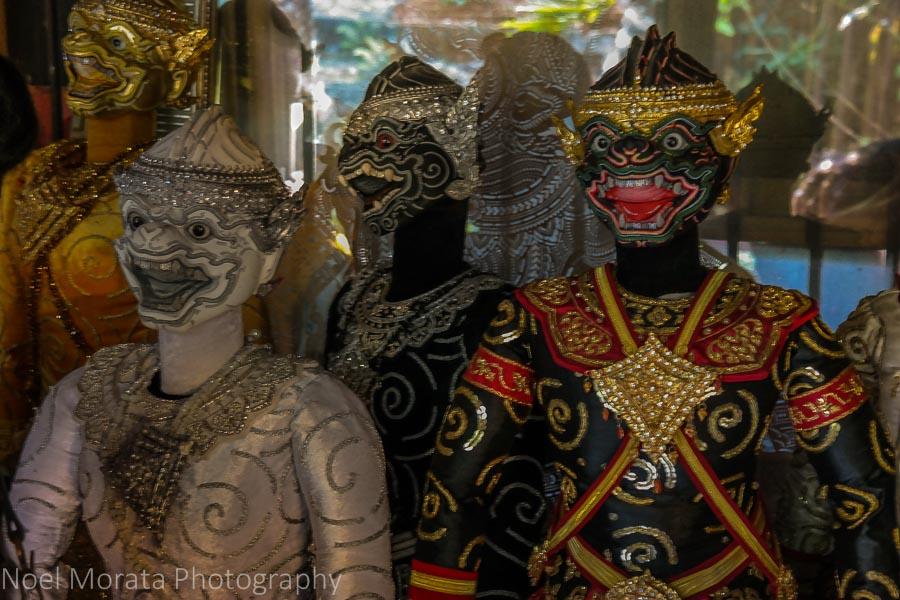Puppets at Baan Silapin in Bangkok