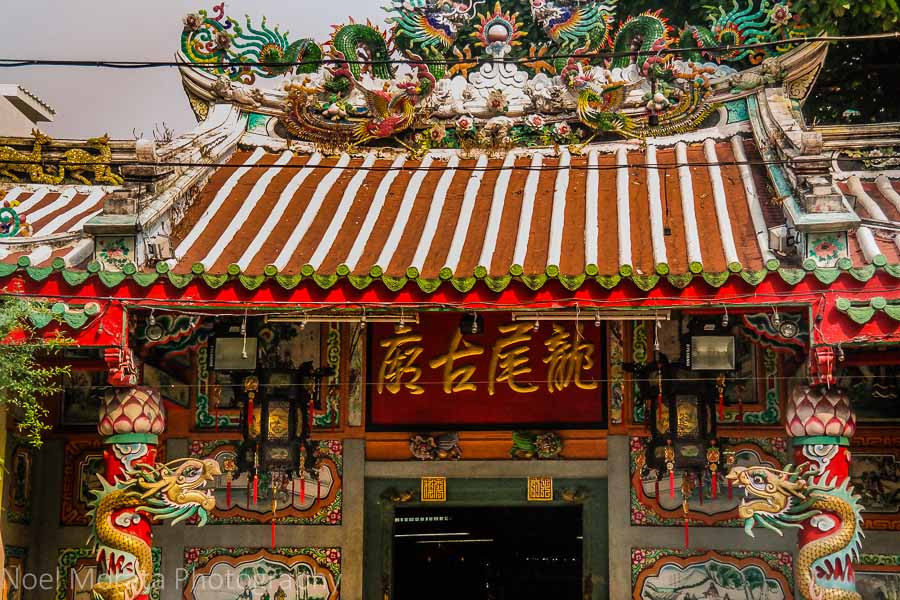 Buddhist temple in Chinatown, Bangkok