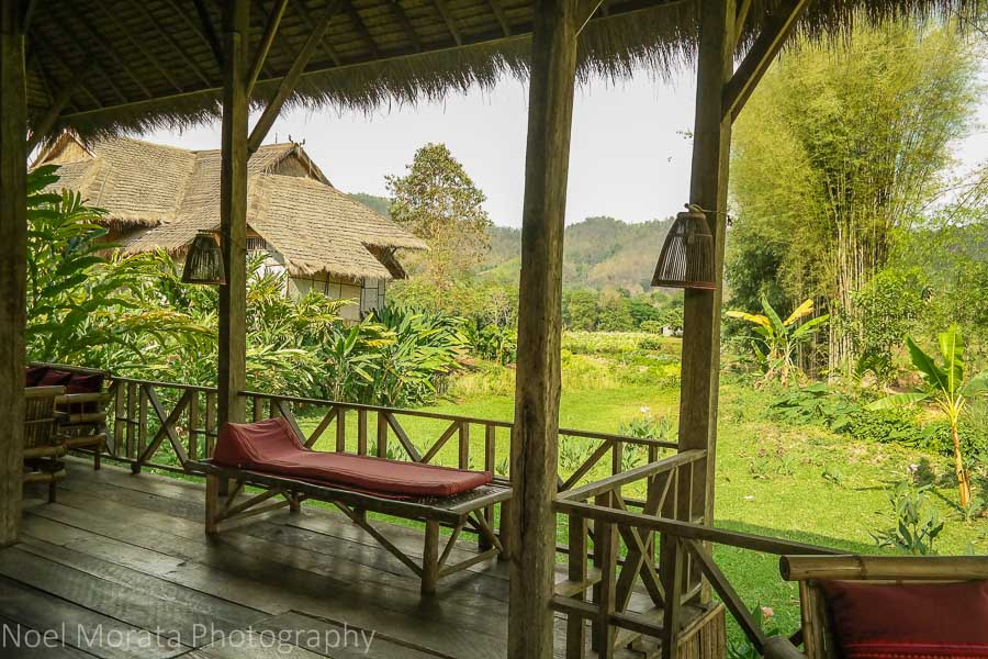 Scenic landscape at Lisu lodge, Thailand
