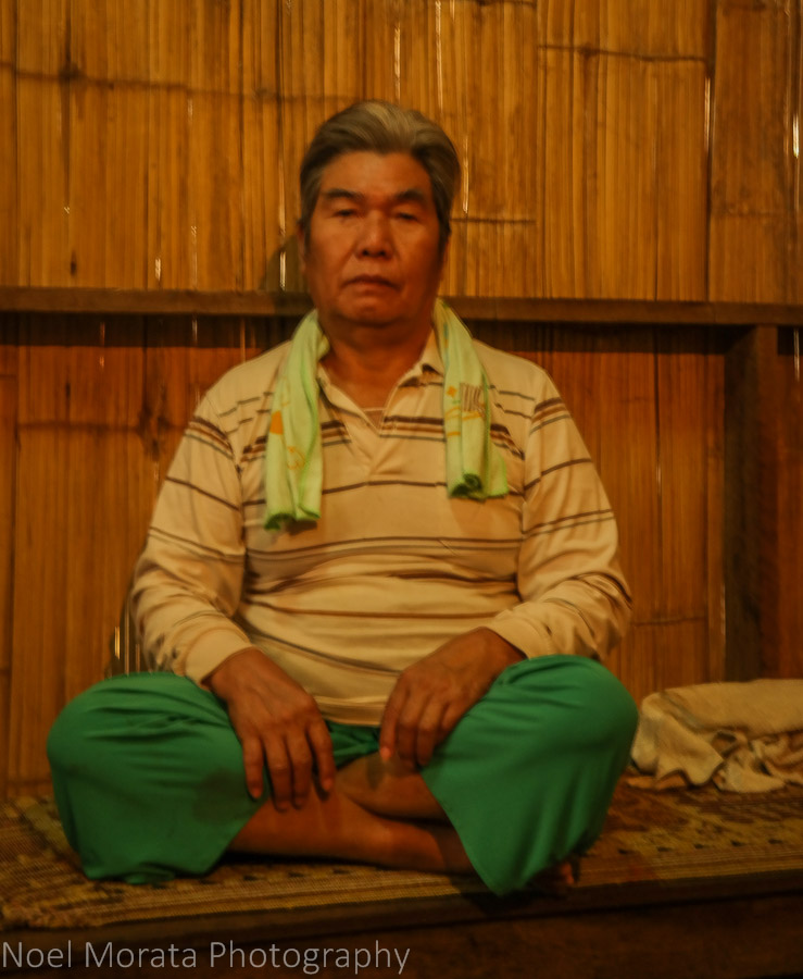 Visiting the Lisu tribe shaman or medicine man