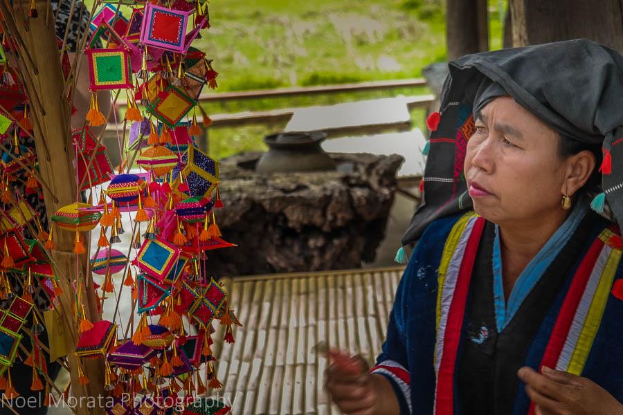 Handicrafts at Ta Dam Village