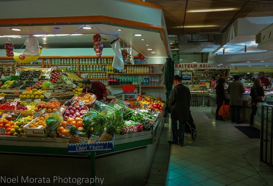 The covered market - Marché Alimentaire de Saint Germain