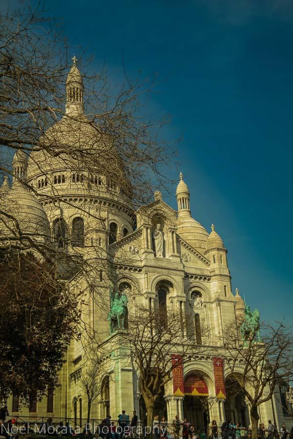 Sacre Coeur Basilica in Monmarte, Paris