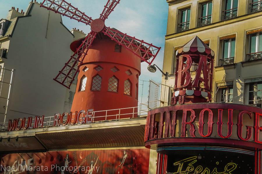 The Moulin Rouge cabaret - Place Pigalle, Paris