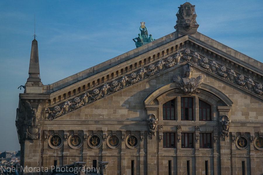 Back façade of the Opera house, Paris