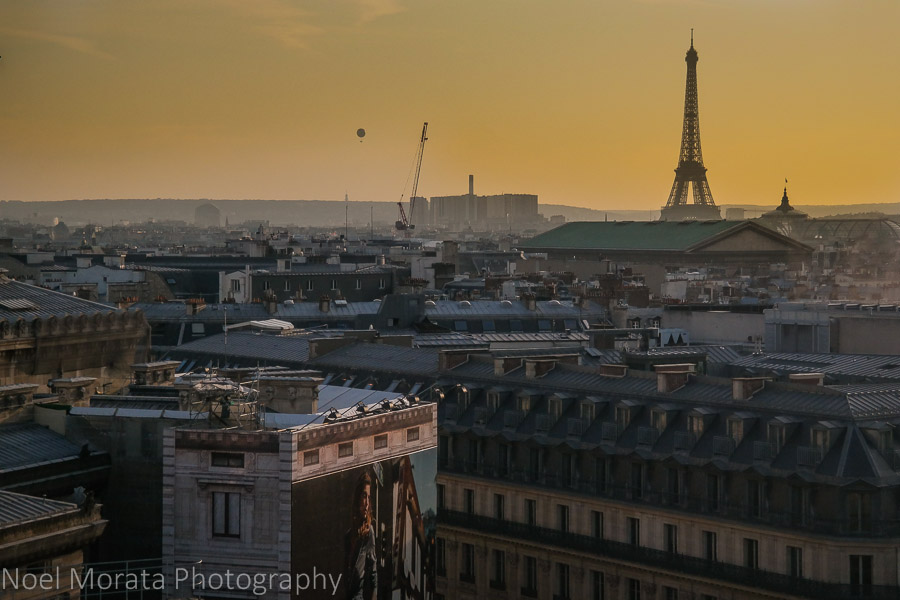 Visiting Paris: 10 tips and suggestions - Paris from above