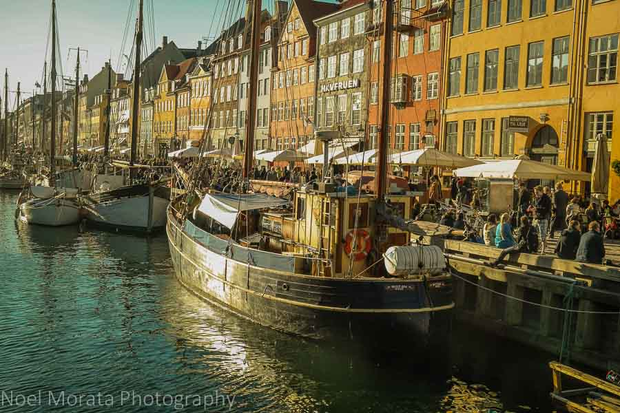 Nyhaven the new harbor - 20 top attractions in Copenhagen