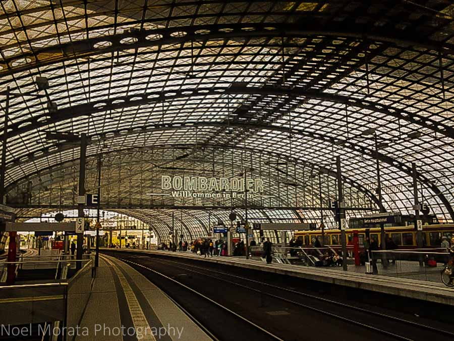 Berlin Hauptbahnhof - Eurail travel across Europe