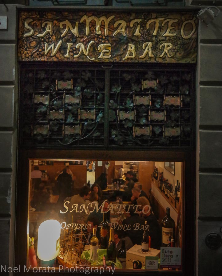 San Matteo wine bar, Genoa, Italy