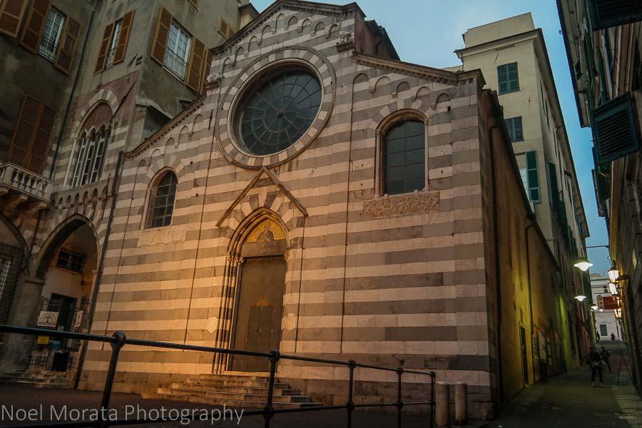 Along Piazza Matteo and Chiesa San Matteo