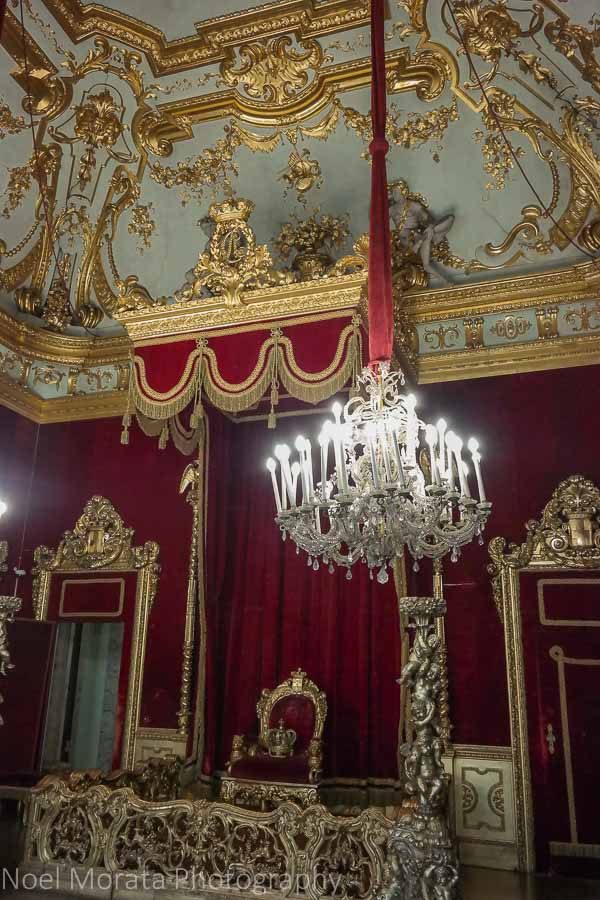 Palazzo Reale throne room, Genoa