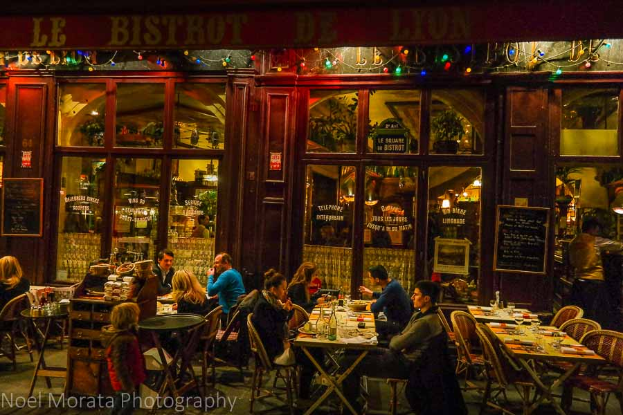 A bistro at Vieux Lyon - the old town