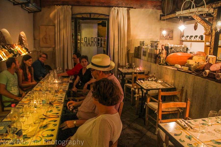 Osteria der Belli restaurant  in Trastevere, Rome