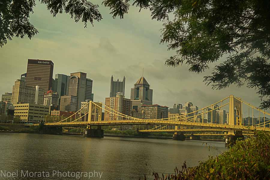 North riverfront walk - A first impression of Pittsburgh