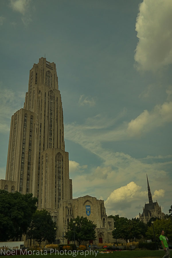 The Cathedral of learning - A first impression of Pittsburgh