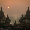 Sunrise at Borobudur,Indonesia