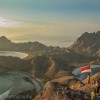 On top of Padar island - Komodo National Park