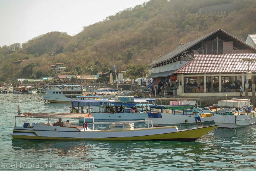 The scenic port town of Labuan Bajo - Visiting Komodo National Park